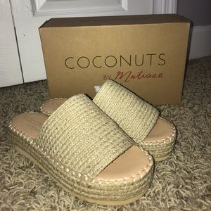 Coconuts by Matisse Natural Sandals